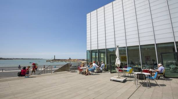 The harbour at Turner Contemporary