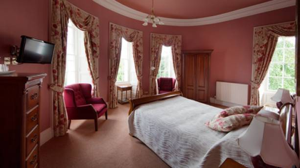 Bedroom at Overwater Hall