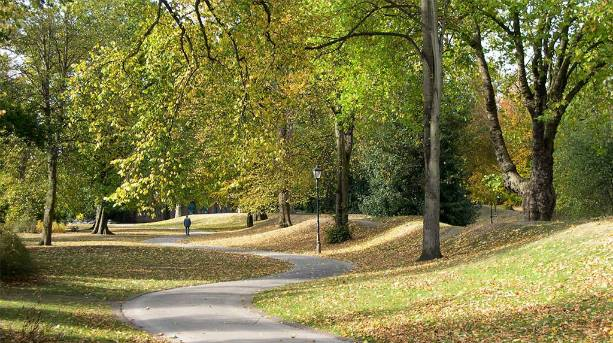 One of Derby's parks