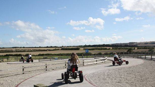 Go Karting at Playdale Farm Park