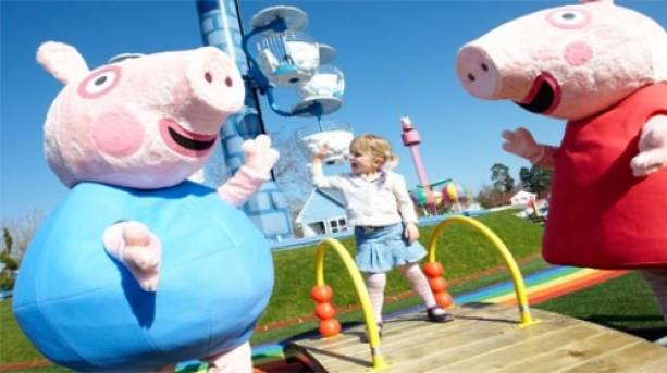 Peppa Pig and Friends at Paultons Park, New Forest, Hampshire