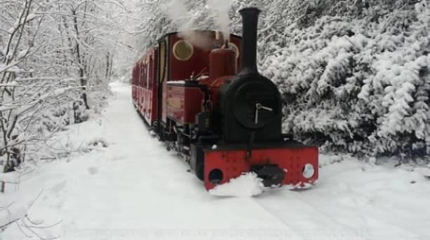 Perrygrove Railway in winter