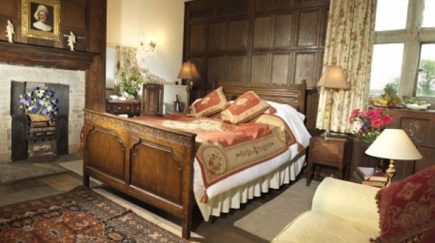 Bedroom at Soulton Hall