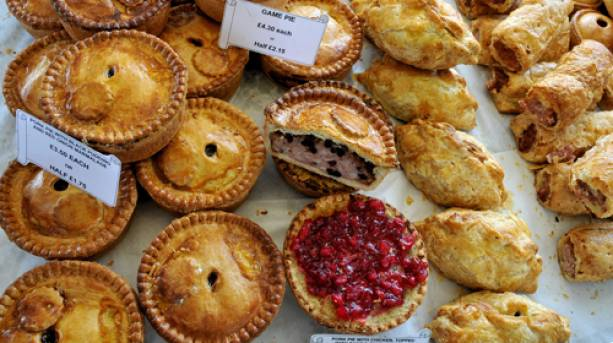 Pies at the Beverley Food Festival