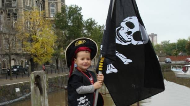 Fun for all the family on the Bristol Pirate Walk