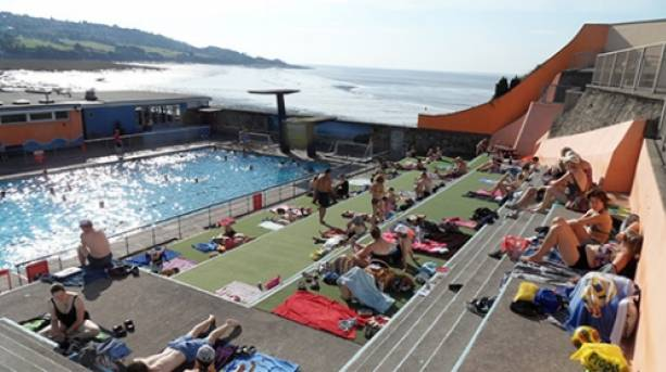 Visit the beautiful town of portishead visitengland - Open air swimming pool portishead ...