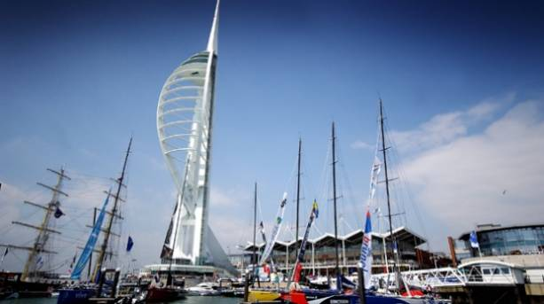 Spinnaker Tower and Gunwharf Quays