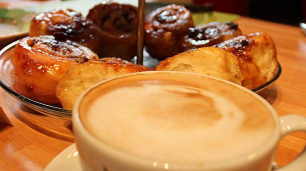 Afternoon tea at Prema Arts Cafe