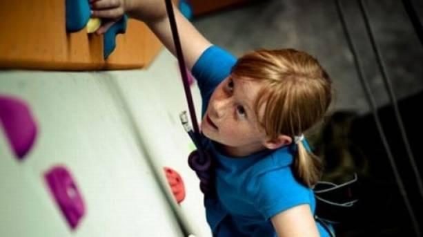 Scaling the walls at Exeter's Quay Climbing Centre