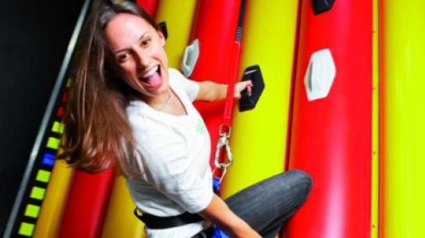 Test your corage at Exeter's Quay Climbing Centre