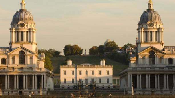 Old Royal Naval College, with Queen's House in centre