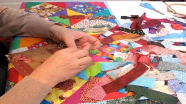 Quiltmaking at the Devon Guild of Craftsmen