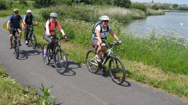 Enjoy a leisurely cycle ride along a disused railway