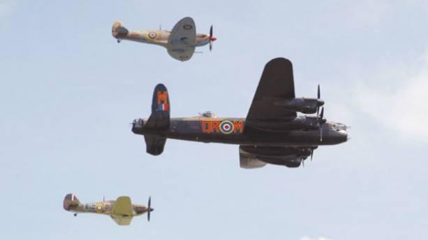 RAF Battle of Britian Memorial Flight