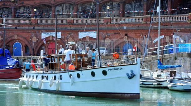 Little Ship 'Sundowner' in Ramsgate Harbour