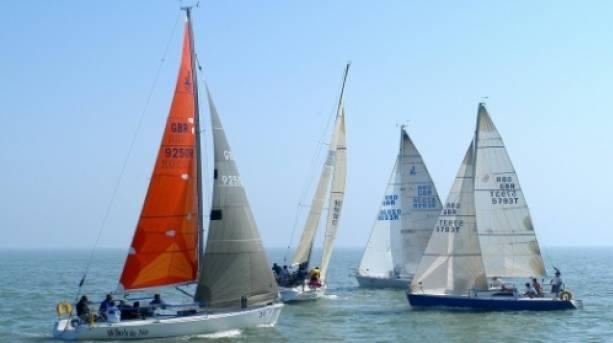 Sailing off Ramsgate