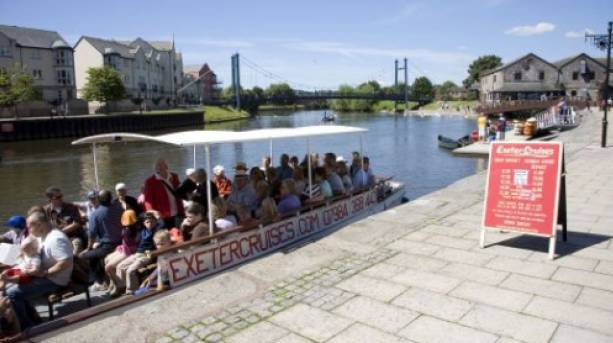 Exeter Red Coat Canal Trip