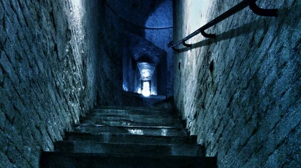 Creepy corridors and cells at Redoubt Fortress
