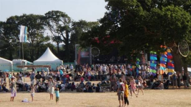 Rhythmtree Main Stage, Isle of Wight