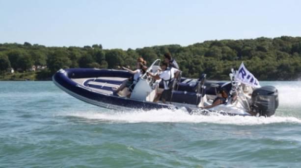 Powerboat ride, Gosport