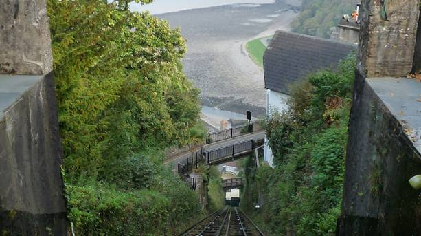 Ride the railway and enjoy a panorama of the striking North Devon coast