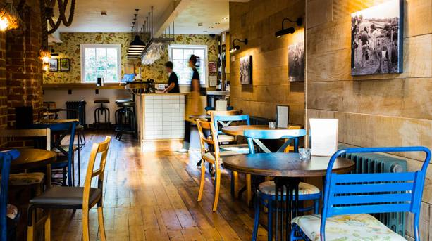 Inside celebrity chef Hugh Fearnley-Whittingstall's River Cottage Canteen and Deli