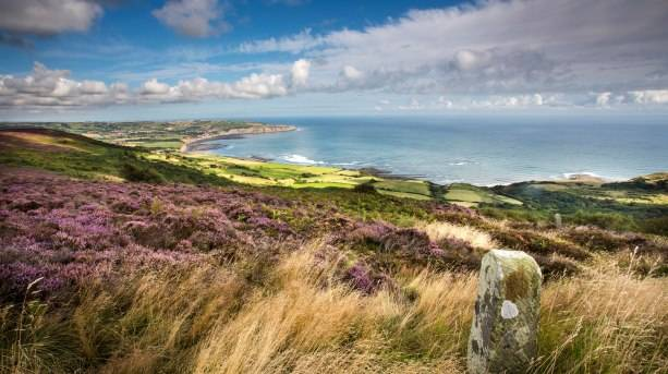 View over Robin Hood's Bay from Ravenscar on the Cleveland Way Credit Mike Kipling/NYMNPA