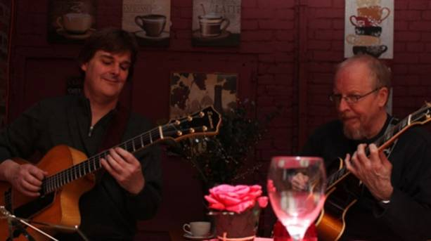 A jazz evening at Strays Coffee
