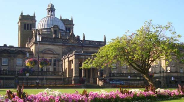 The outside of the Royal Baths in Harrogate