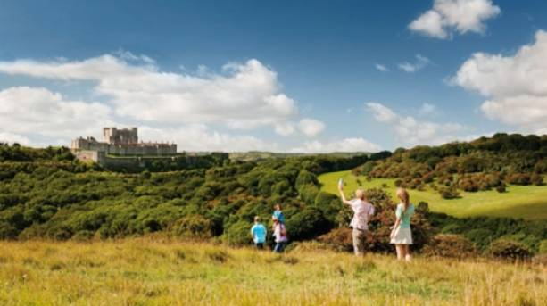 Dover Castle in Kent