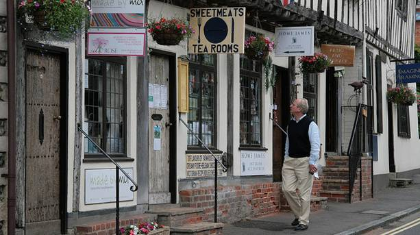 Independent stores and eateries in Lavenham