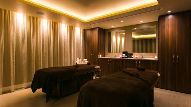 Two massage beds at Woodland Spa, Lancashire