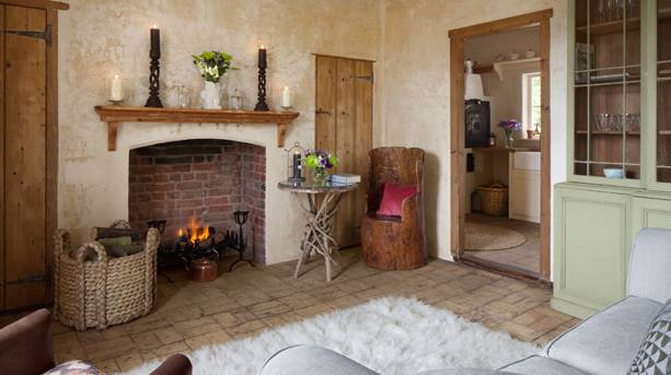 Hex Cottage sitting room