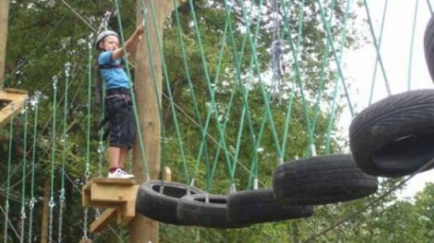 Fun for youngsters at Roper Runners