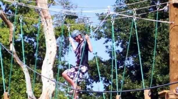 Hanging around at Rope Runners