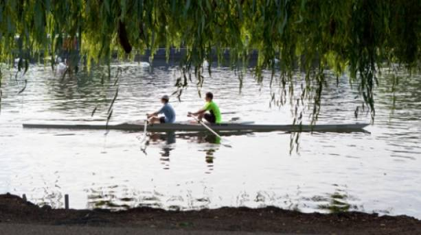 Rowing on the River Avon in Stratford-upon-Avon