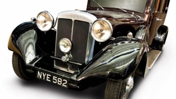 Royal Car at Coventry Tranpsort Museum