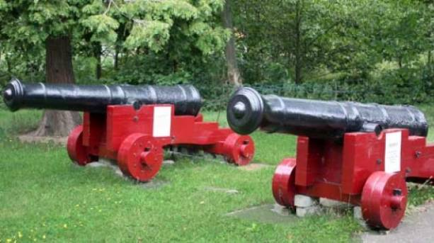 Canons from days gone by
