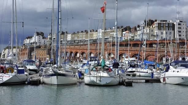 Ramsgate Royal Harbour and arches