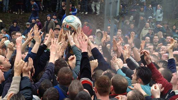 Royal Shrovetide Football at Ashbourne
