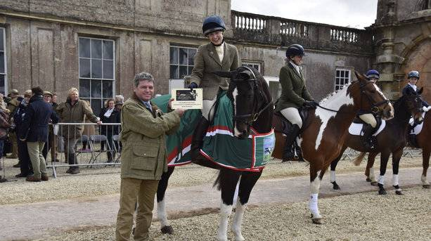 1st Place at the Badminton Horse Trials