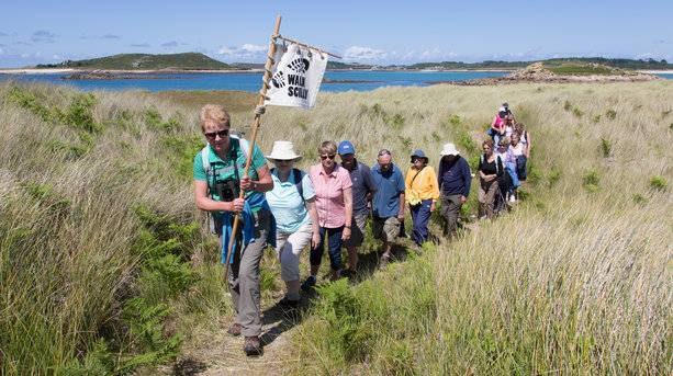 Guided Walks on Scilly