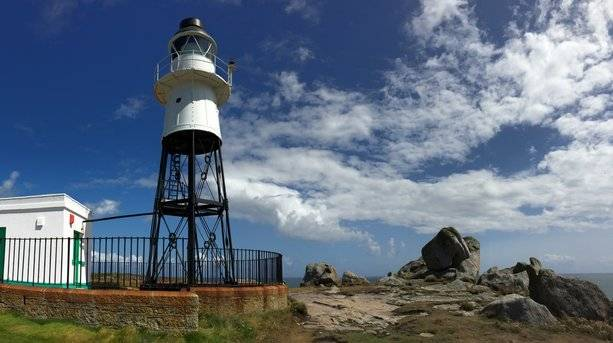 Lighthouse on the Isles of Scilly