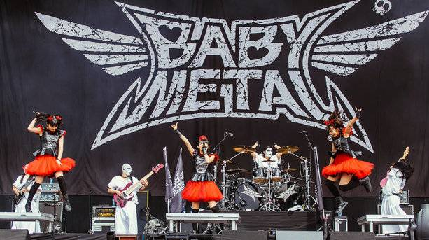 Baby Metal at Reading and Leeds