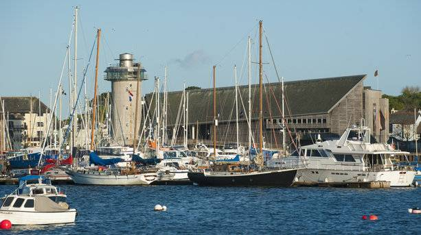 Boats at Falmouth
