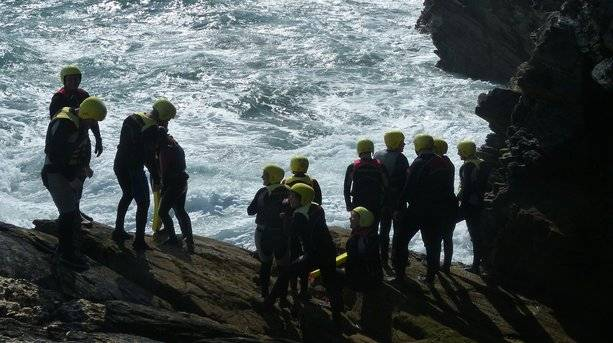 Coasteering in Newquay