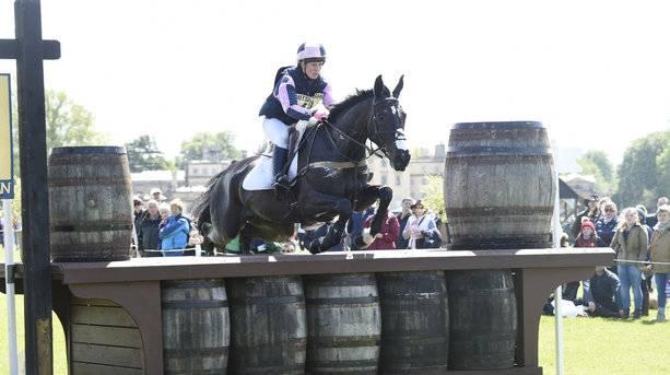 N Dalton at the Badminton Horse Trials