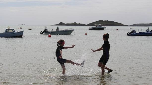 Sisters in the Sea, Isles of Scilly