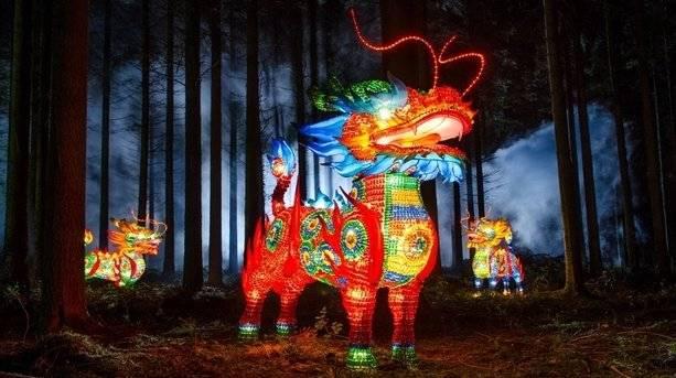 Longleat's Festival of Lights