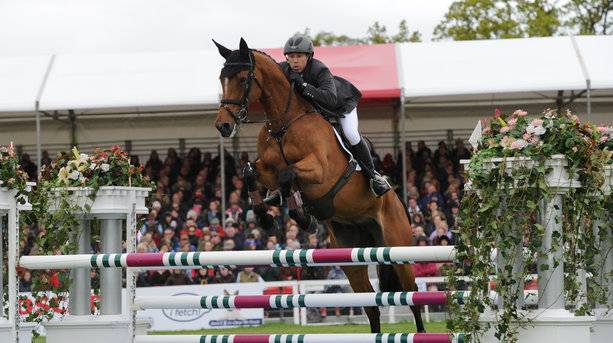 Griffiths at the Badminton Horse Trials